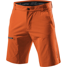 Löffler Comfort Stretch Light Trekking Shorts Herren safran